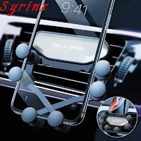 Auto adjusting mobile holder