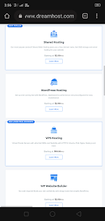 Dreamhost Plans and Pricing