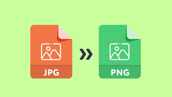 Format Gambar JPG Menjadi PNG Tanpa Aplikasi