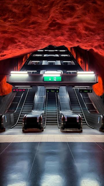 Plano de Fundo HD Metro Elevador
