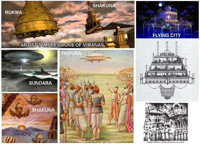 Pushpak Vimana - The Ancient flowery chariot or flying craft