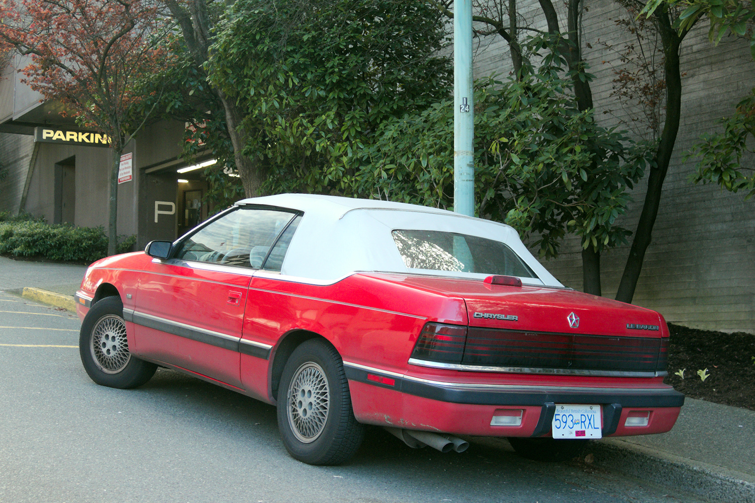 CC Capsule: 1990 Chrysler LeBaron Landau – Comes With Everything ...
