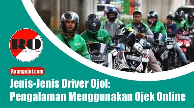 Jenis driver ojol
