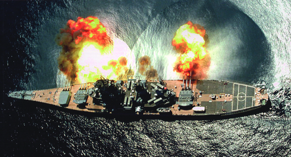 Zenith Press   The Blog: Naval Snapshot - USS Iowa Letting