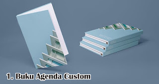 Buku Agenda Custom merupakan salah satu rekomendasi souvenir kece di awal tahun
