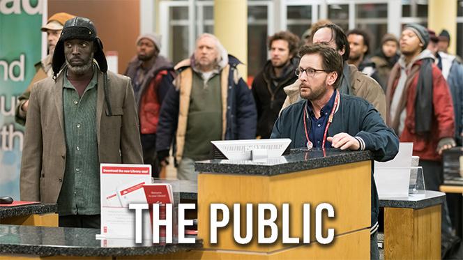 The Public (2018) BRRip 1080p Latino-Ingles