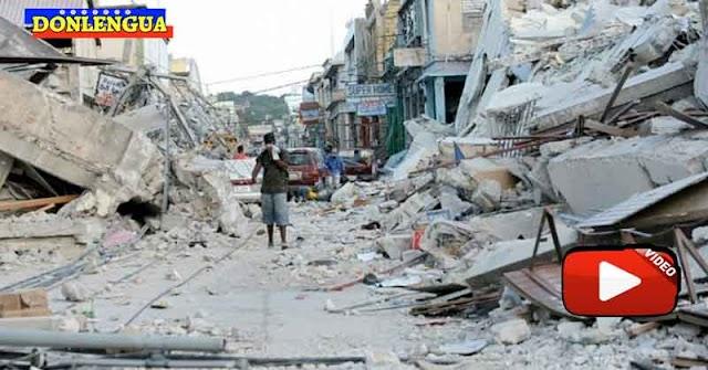 Destrucción total tras el terremoto de 7.2 en Haití este 14 de agoso