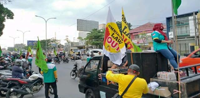 11 Orang Demonstran Di Semarang Positif Covid-19