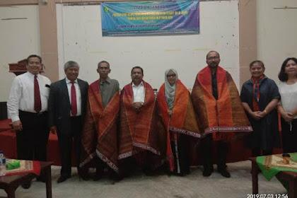 Bangun Keurijasama, Pendeta HKBP Brie Kuliah Umum di UIN Ar-Raniry