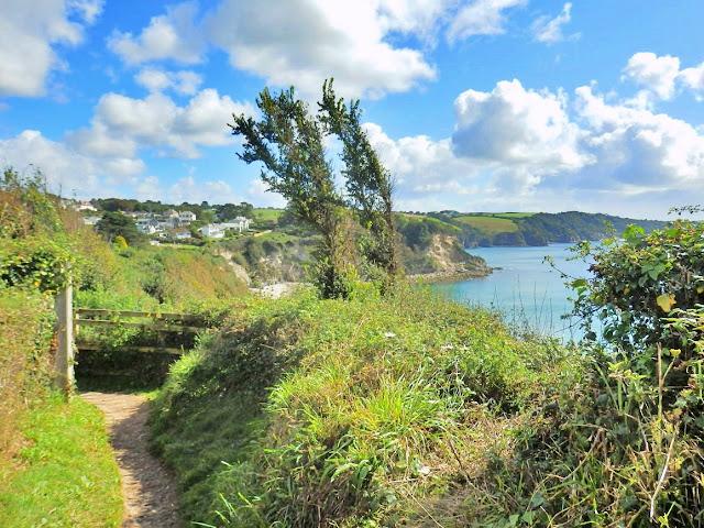 The SW Coastal Path near Duporth, Cornwall