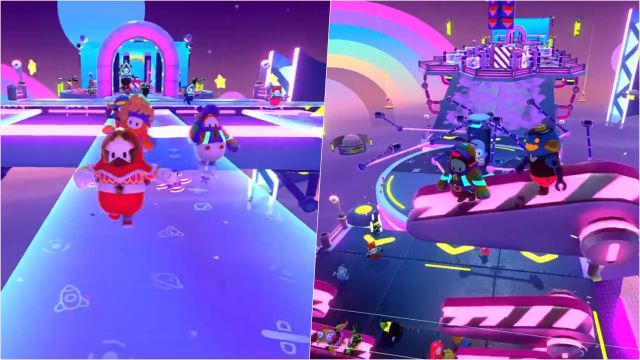 Fall Guys reveals the first level of Season 4: this is Skyline Stumble