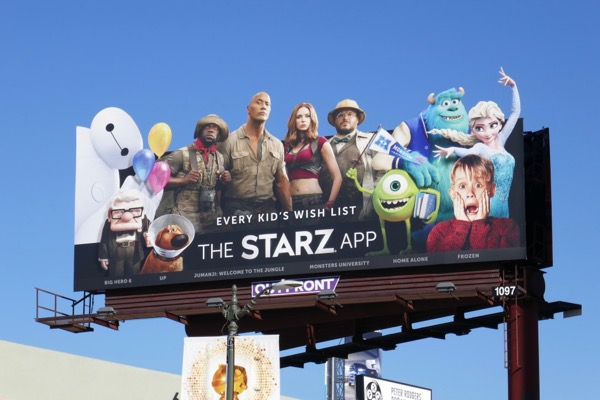 Every Kids Wish List Starz App billboard