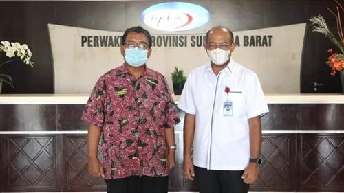 Dirut Kunjungi BPK Perwakilan Sumbar Untuk Wujudkan Tata Kelola Perusahaan yang Baik di Perumda Air Minum Kota Padang