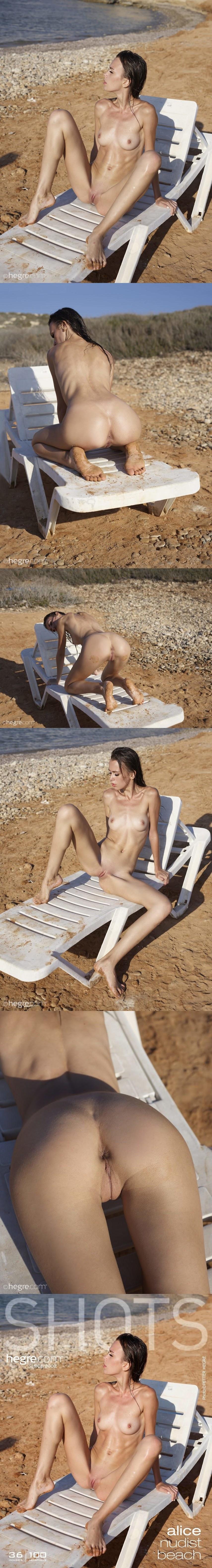 HA  2019-06-19 Alice - Nudist Beach