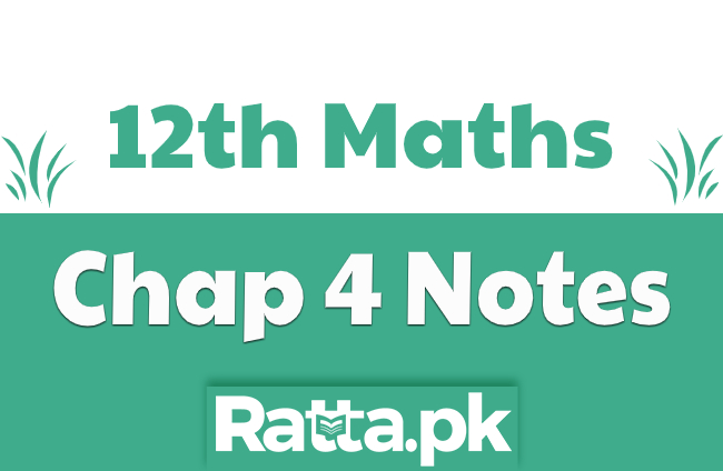 2nd Year Maths Chapter 4 Notes Introduction to Analytical Geometry pdf