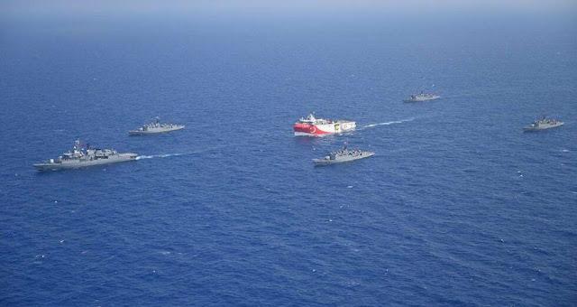 Συνεχίζεται η ένταση στην ανατολική Μεσόγειο: «Μοναδική διέξοδος ο διάλογος» επιμένει η ΕΕ