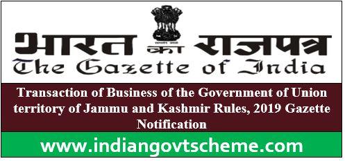 Union territory of Jammu and Kashmir