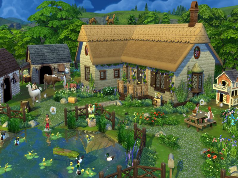The Sims 4 Cottage Living Highly Compressed Free Download