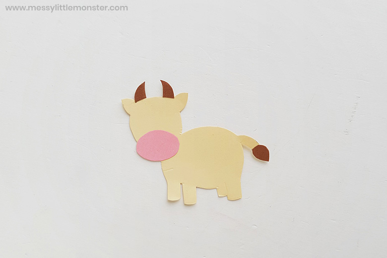 farm animal cow craft