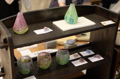 松本PARCO 中野由起子のガラス作品