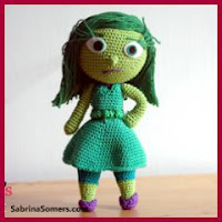 ASCO INSIDE OUT AMIGURUMI