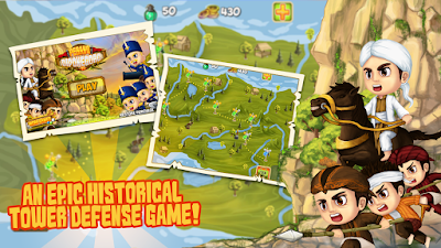 Game Diponegoro Tower Defense
