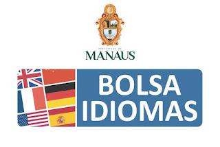 Logotipo Bolsa Idiomas em Manaus AM