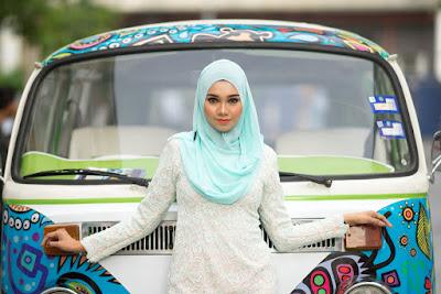 gaya busana hijab terbaru