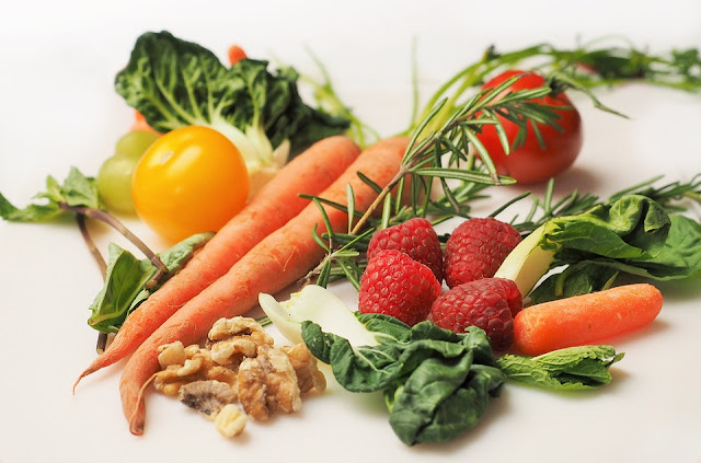 Bright colorful veggies benefit your health