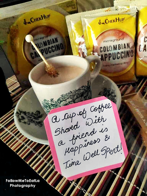 BEST CHEK HUP COFFEE SERIES - Chek Hup Colombian Cappuccino