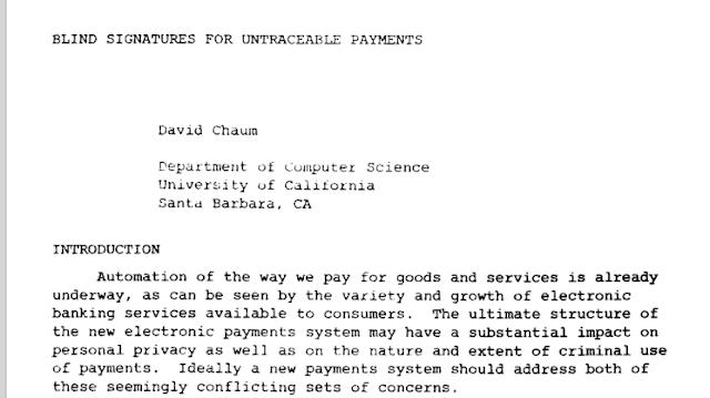 Origen de las Criptomonedas y el Bitcoin David-chaum-paper-1982