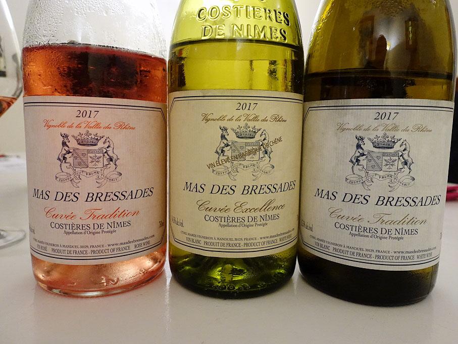 Mas des Bressades Cuvée Excellence Blanc 2017 (89 pts)