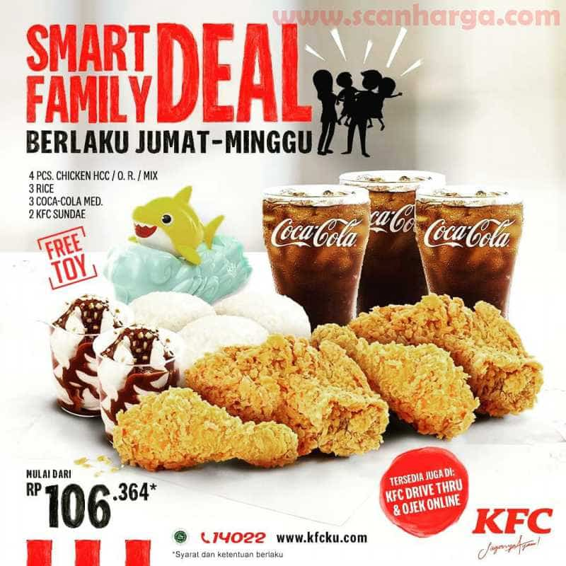 KFC Promo Smart Family Deal Juli 2020