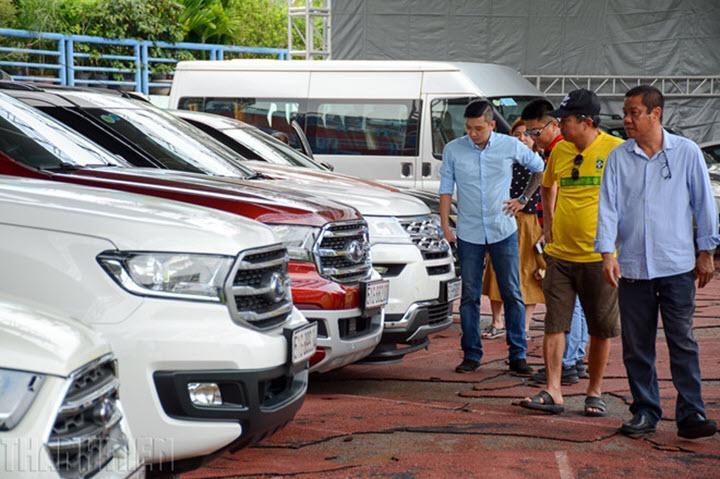 Từ ngày 1.8, bán xe ra ngoại tỉnh phải nộp lại biển số