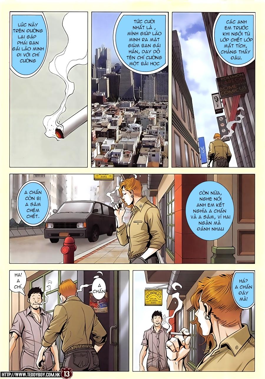 Người Trong Giang Hồ chapter 1952: a chí và a chân trang 12