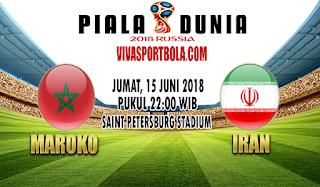 Prediksi Bola Maroko vs Iran 15 Juni 2018