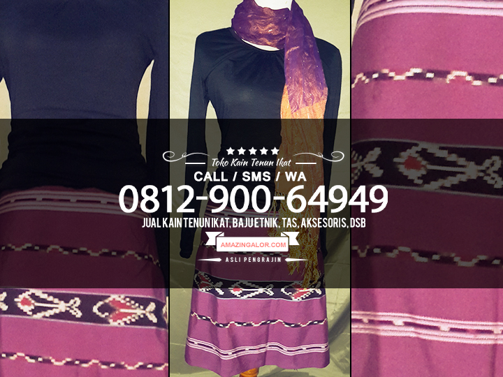 Jual Tenun Ikat Ntt Baju Etnik Modern  WA 081290064949  Kain