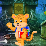 Play Games4King Cartoon Tiger Rescue