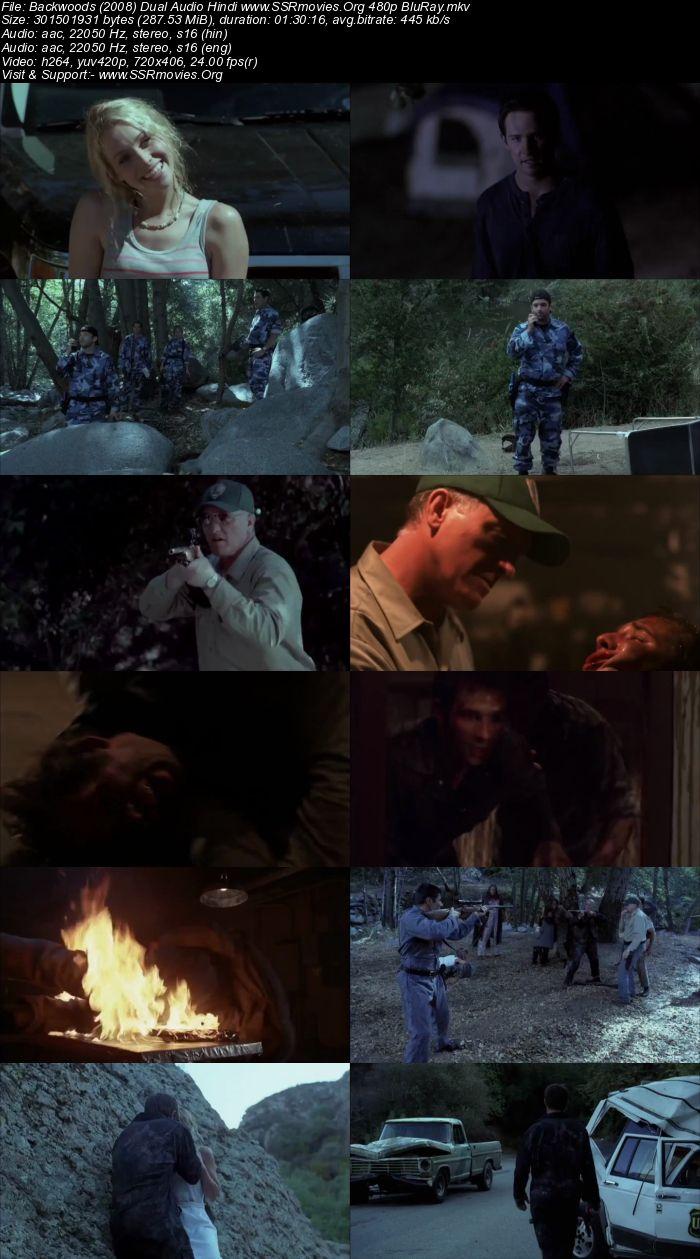 Backwoods (2008) Dual Audio Hindi 480p BluRay