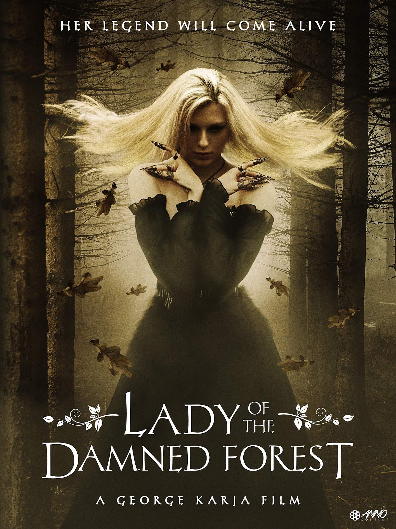 Lady of The Damned Forest 2017 Hindi Dual Audio 720p   480p BluRay x264
