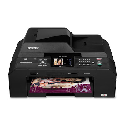 Duplex printing for creating professional person lineament Brother MFC-J5910DW Driver Downloads