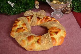 Christmas Wreath Bread Recipe
