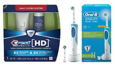 Crest toothpaste, Oral-B, Braun, електрическа четка за зъби,