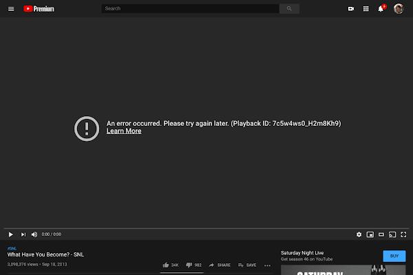 YouTube e Google Play Store estiveram em baixo - O que se terá passado?