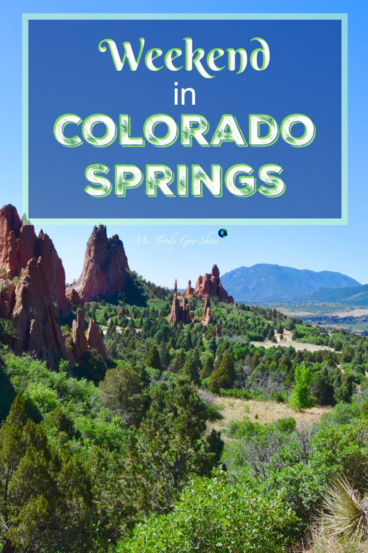 Colorado Springs, CO is home  to some of  America's most beautiful scenery.  | Ms. Toody Goo Shoes #girlsweekend