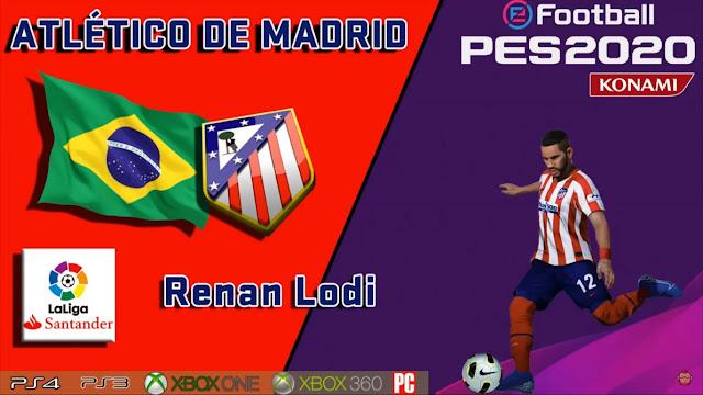 PES 2020 Renan Lodi Face by maquiavelo40