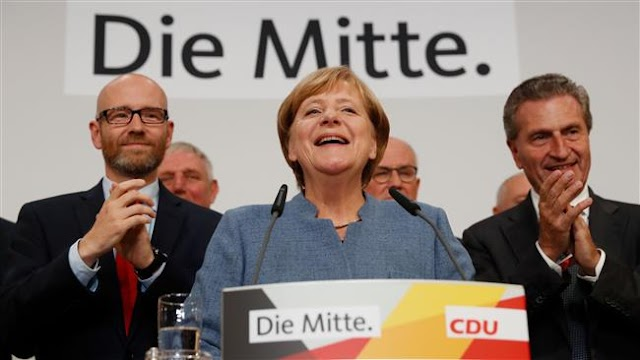 Far-right party entry into parliament poses 'big challenge': German Chancellor Angela Merkel