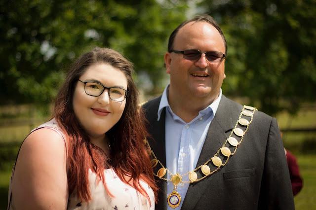 Mayor of Bradley Stoke Memorial Service at Westerly Crematorium Bristol