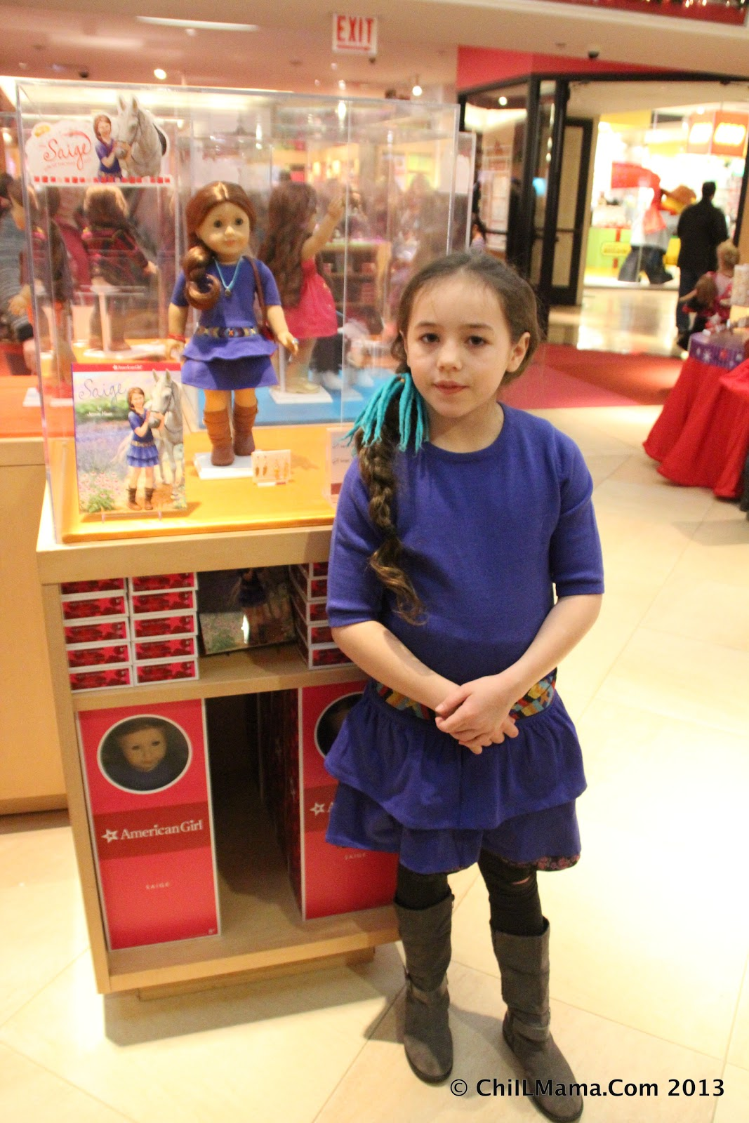 Me play for girl