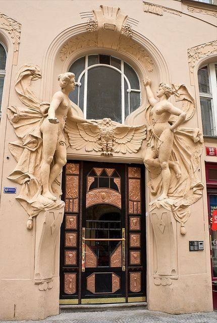 Portes Art Nouveau
